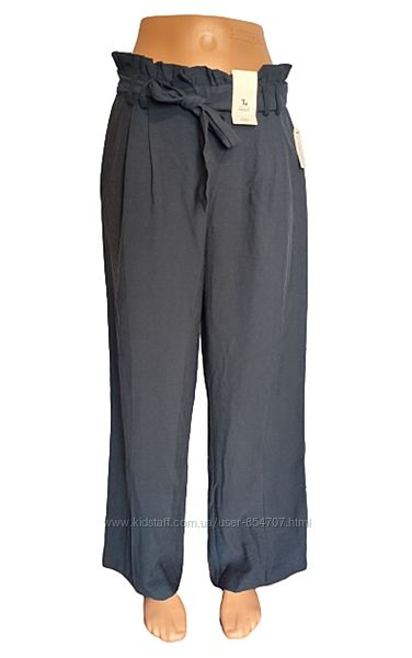 Брюки женские штаны прямые палаццо TU Wide Leg размер 44, S, EU38, UK10