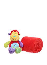 Детский подарочный набор плед, игрушка Eddy Toys