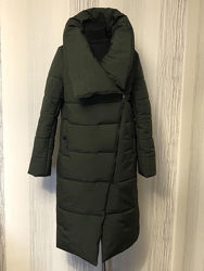 Зимнее женское пальто одеяло
