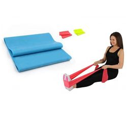 Резинка для фитнеса, йоги, пилатеса. Элластичная лента. Эспандер.