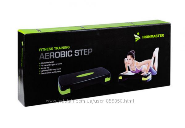 Степ- платформа IronMaster IR97301  10-15 см