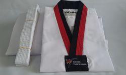 Добок кимоно для тхэквондо 110-160 см. WTF Gemini