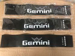 Резина GEMINI 60 см. Черная - X-Heavi  18 кг Резинка, эспандер-петля