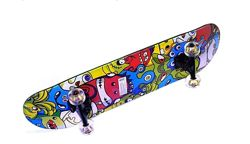 Profi Скейт MS 0355 до 100кг. Поверхность наждачка. 9 слоев клена.