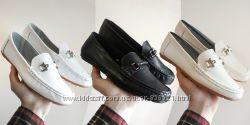 НАТУРАЛЬНАЯ КОЖА балетки слипоны мокасины черные белые бежевые туфли