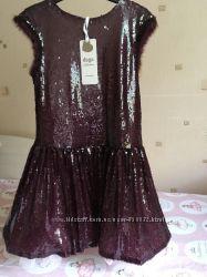 Шикарное платье в пайетках  DAGA