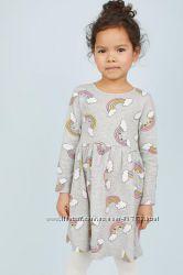Платье с радугами H&M 6-8 лет