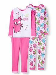 Пижамы на девочек от 12м до 10 лет из США  - 15 расцветок