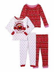 Пижамы хлопковые от 18м до 7 лет -16 расцветок