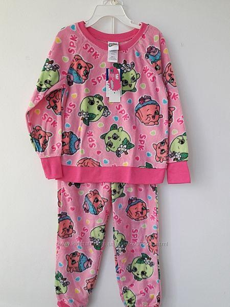 Флисовые  пижамы от 18м до 11 лет - 10 расцветок
