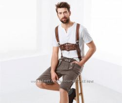 Мужские шорты в стиле октоберфест р. l tchibo, германия