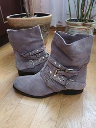 Р. 41 кожаные ботинки от cosmoparis, оригинал португалия