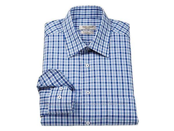 Шикарная бизнес рубашка nobel league. размер 40-15 3&924