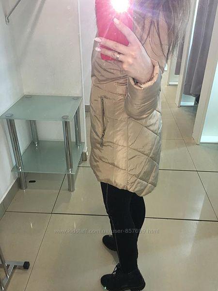 Крутая куртка парка очень модная низкая цена идеал актуально. Демисезонная