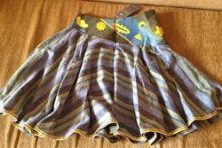 Новая юбка Sela, 44 размер, шерсть, вискоза