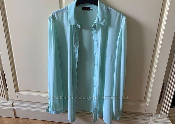 Блузка мятного цвета Decorus 42 по бирке