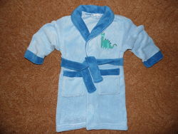 Махровый халат Pure Kids 3-4 года