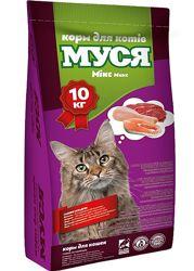 Корм сухой для кошек Муся мікс 10кг
