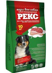 Корм Рекс для собак з середньою активністю 10кг.
