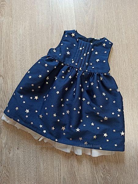 Платье на годик, рост 80, Baby Club C&A, Германия