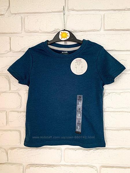 Однотонная футболка Kiabi на мальчика 3 года