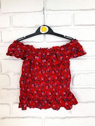 Летняя блуза Primark на девочку 7-8 лет