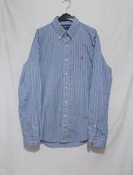 Новая рубашка в цветную полоску Ralph Lauren 48-50р