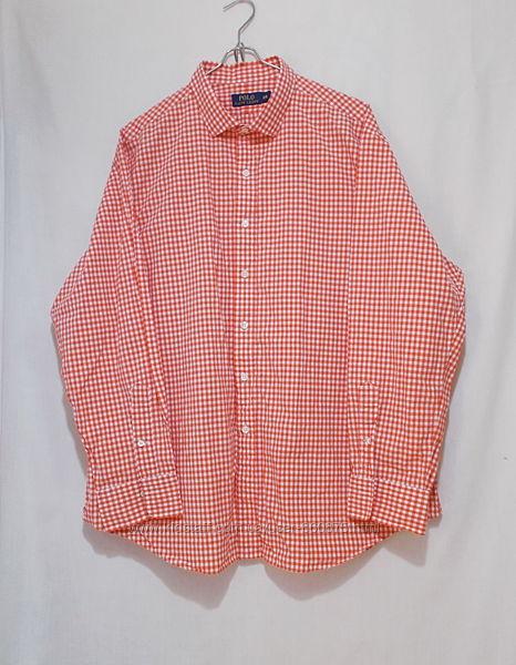 Новая рубашка в мелкую клетку Polo by Ralph Lauren XXL 56-60р