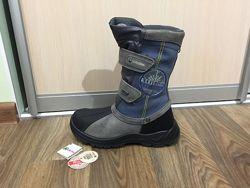 Сапожки ботинки зимние сапоги черевики апрески Naturino р. 37 ст. 23см