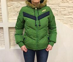 Женская подростковая куртка Adidas оригинал р. 34 XS-S унисекс
