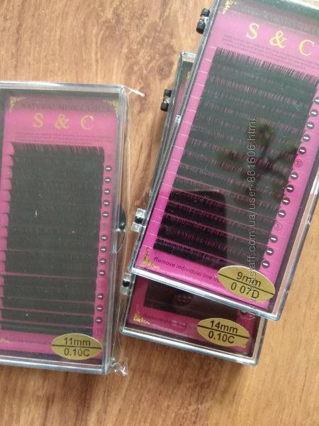 S&C ресницы