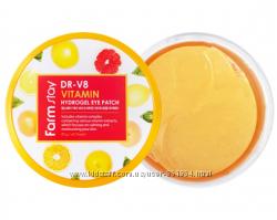 Гидрогелевые витаминные патчи Farm Stay DR-V8 Vitamin Hydrogel Eye Patch