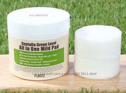 Диски для очищения кожи Centella Green Level All In One Mild Pad Purito