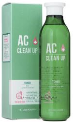 Тонер для проблемной кожи с акне ETUDE HOUSE AC Clean Up Gel Toner
