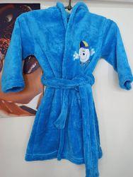 Махровый халат для мальчика расцветки