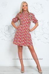 Стильное и романтичное платье-рубашка Гаваи  р. Л 46-48