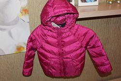 Курточка демисезонная  Zara осеняя весеняя на девочку 8-10 лет