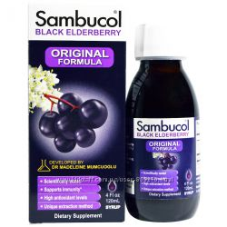 Черная бузины Sambucol Самбукол 120 мл
