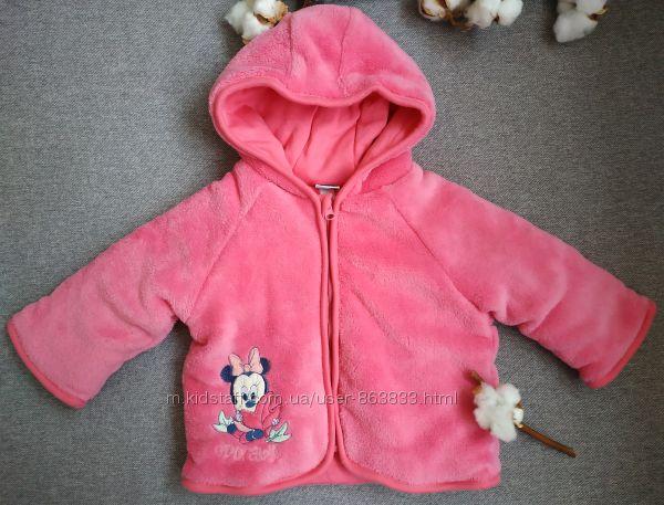 Меховушка для девочки 3-6 мес кофточка куртка на весну курточка
