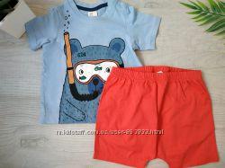 Комплект шорты и футболка H&M летний набор