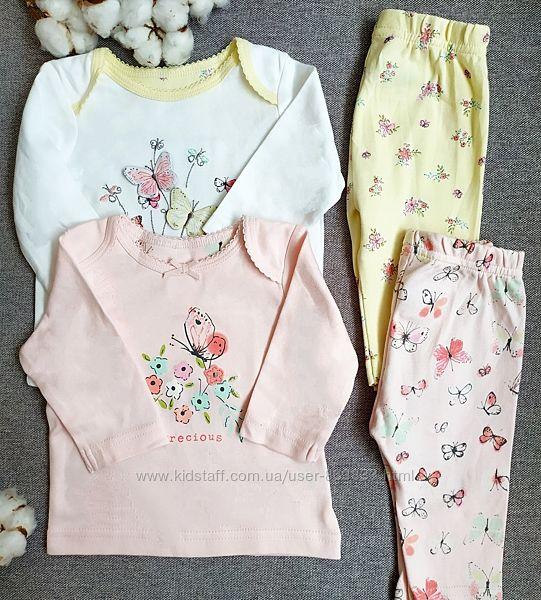 Пижама для девочки Mothercare 0-3 мес