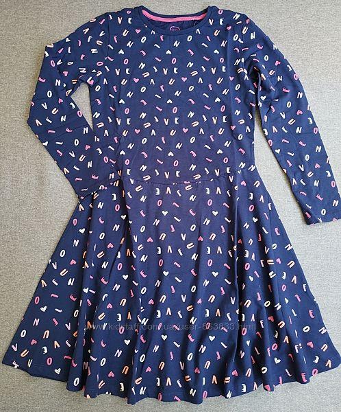 Хлопковое платье с длинным рукавом Cool club 10-11 лет