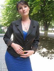 Пиджак 2 пуговицы, 46 без подкладки, Украина, скидка
