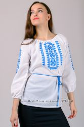Вышиванка женская, жіноча вишита сорочка, р. 44-58 наложка