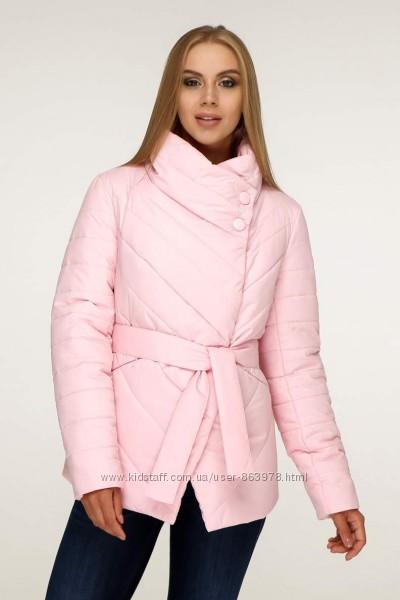 Куртка женская демисезонная с поясом F1199, р. 44-54 цвета