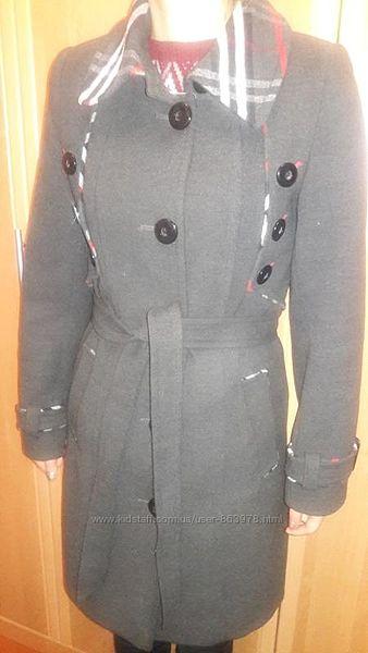 Шикарнейшее кашемировое пальто, шерсть 70, р. 42-44, almatti
