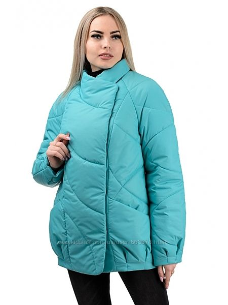 Куртка демисезонная оверсайз AG237, р. 44, 46, 48, 50