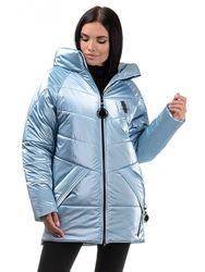 Стильная удлиненная зимняя куртка Хамелеон G305, р.42,44,46 скинули цену