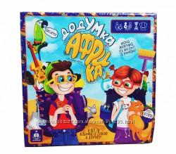 Веселая настольная детская игра ДодУМка Африка, Danko Toys