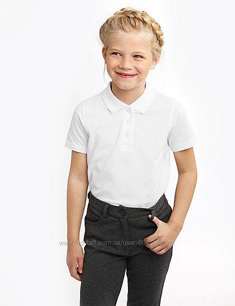 Школьные блузы, поло для девочек 11 - 12 л M&S